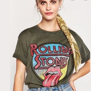 Free People x Daydreamer Rolling Stones Shirt